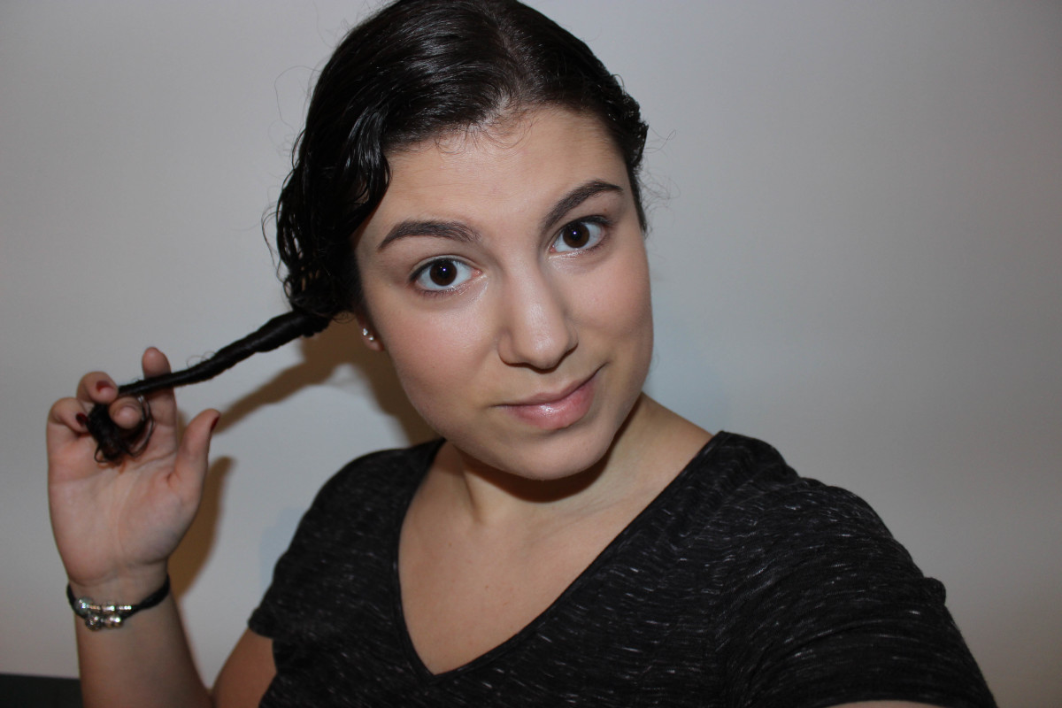 Moroccanoil Intense Curl Cream step 3
