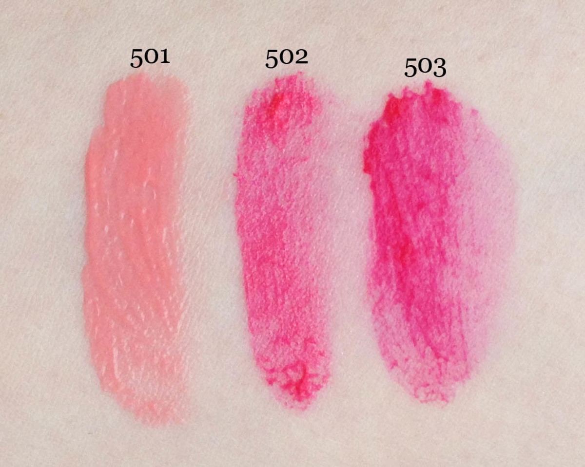 L'Oreal Blur Blush (unblended swatches)