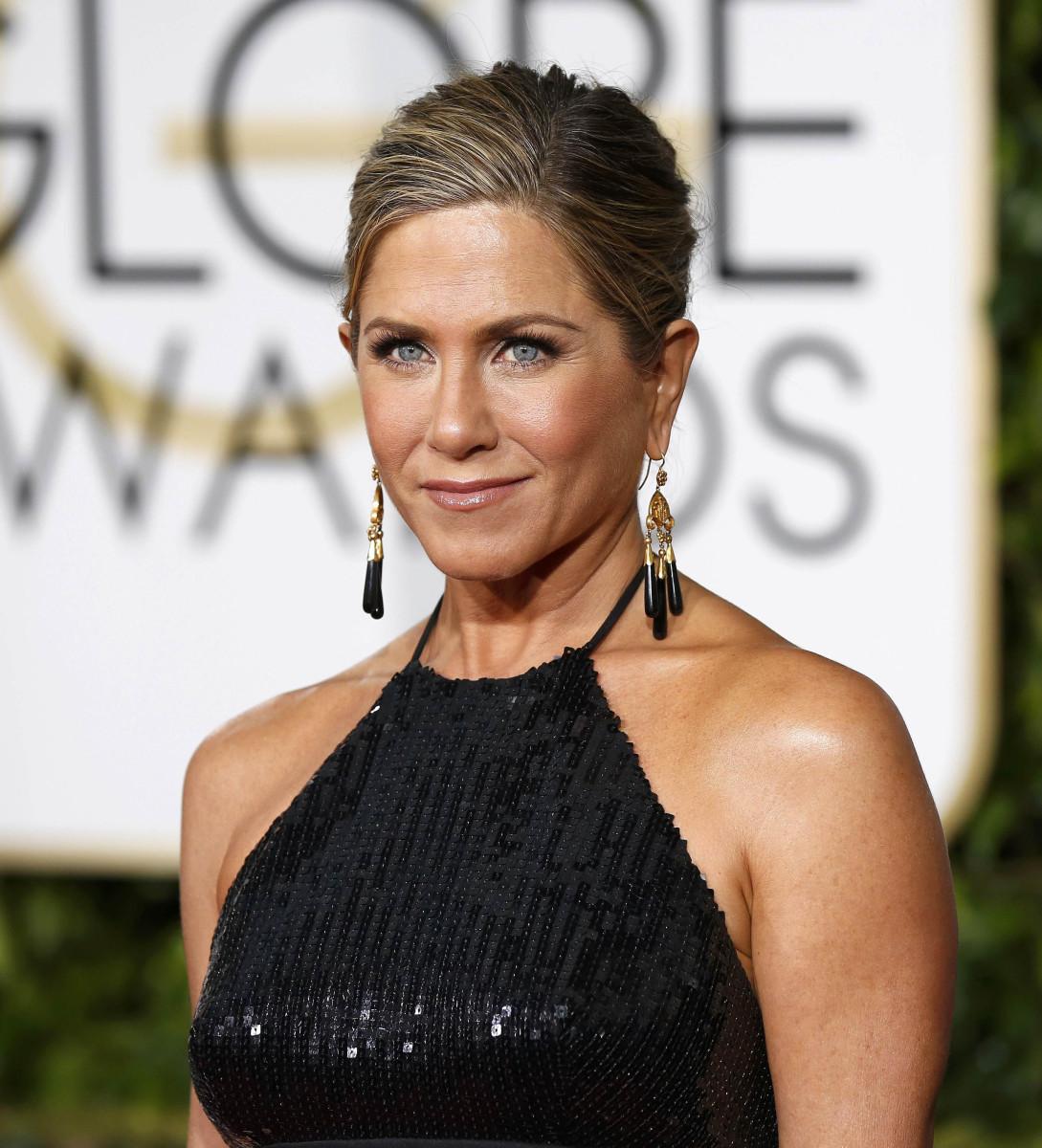 Jennifer Aniston, Golden Globes 2015