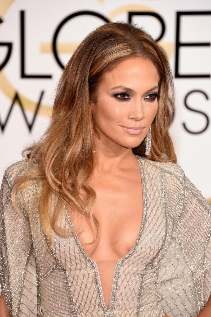 Jennifer Lopez, Golden Globes 2015