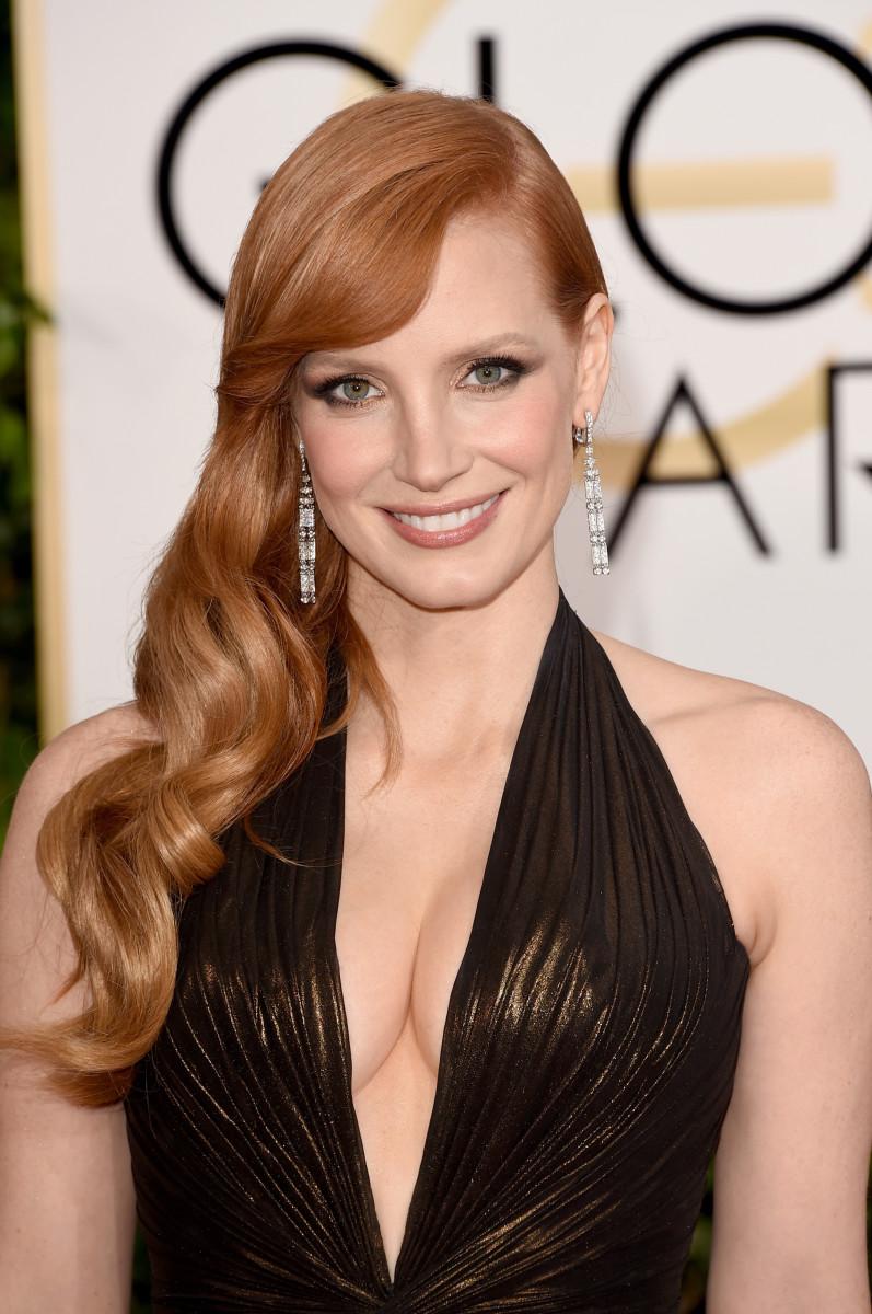 Jessica Chastain, Golden Globes 2015