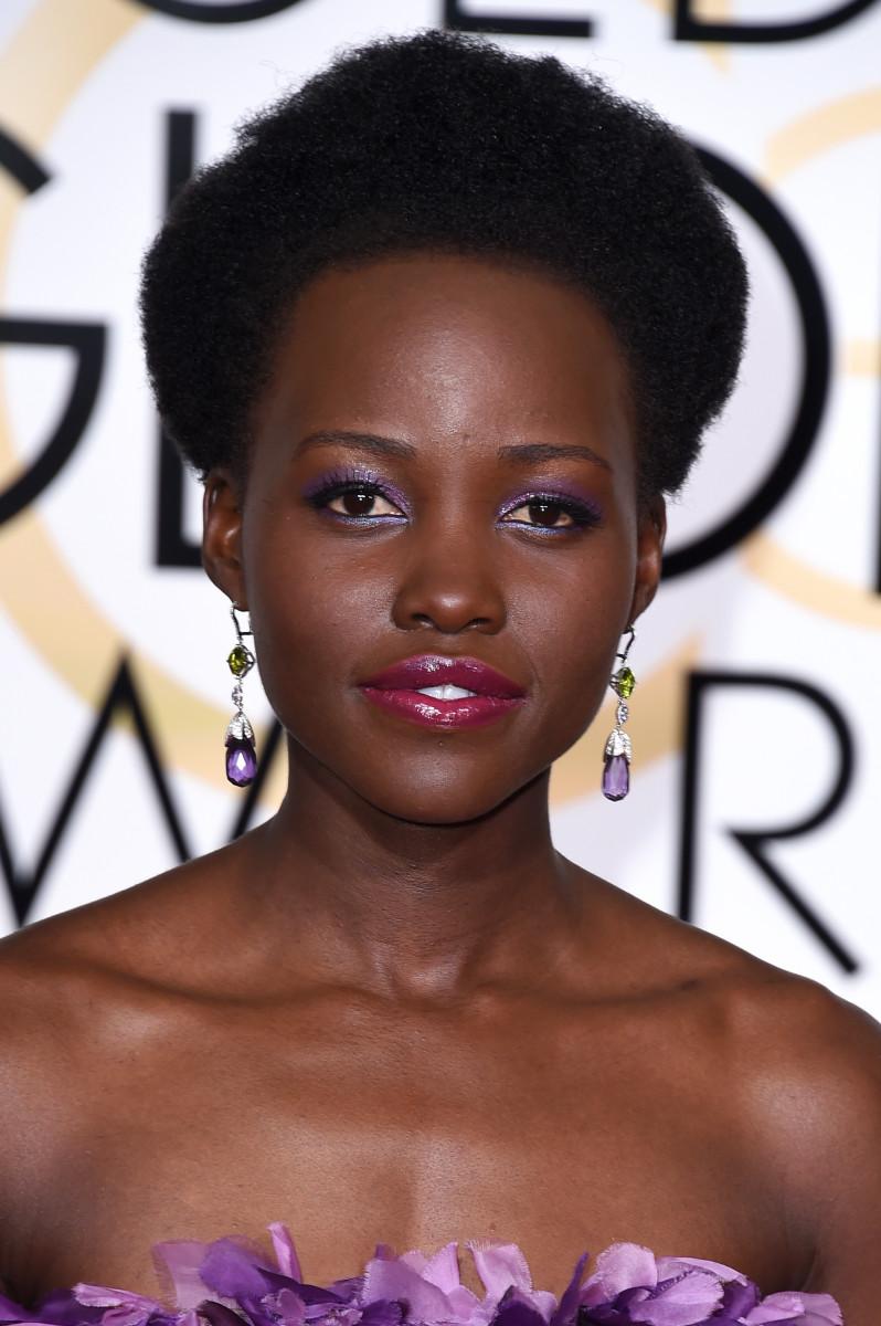 Lupita Nyong'o, Golden Globes 2015