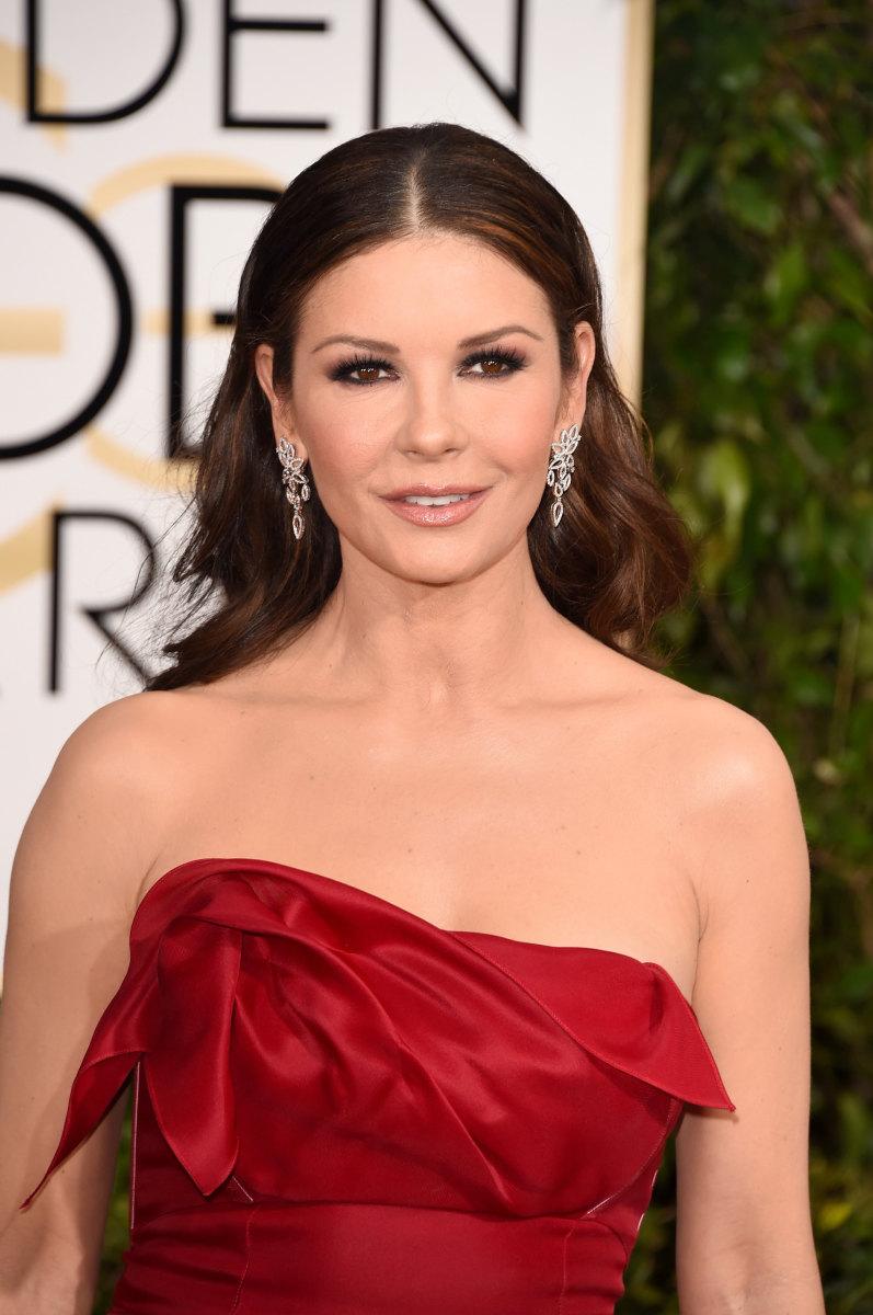 Catherine Zeta-Jones, Golden Globes 2015