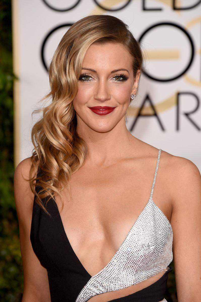 Katie Cassidy, Golden Globes 2015