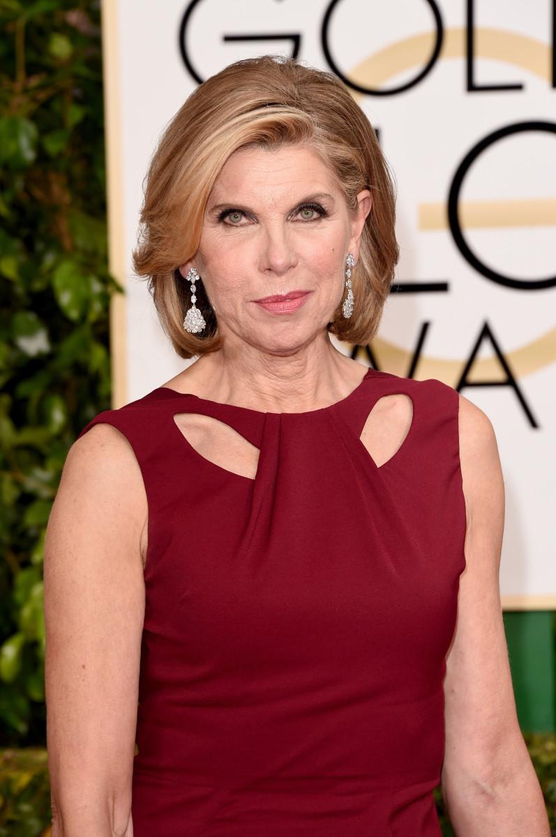 Christine Baranski, Golden Globes 2015