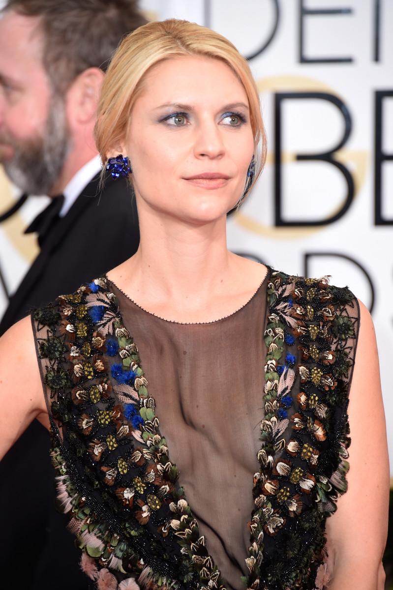 Claire Danes, Golden Globes 2015