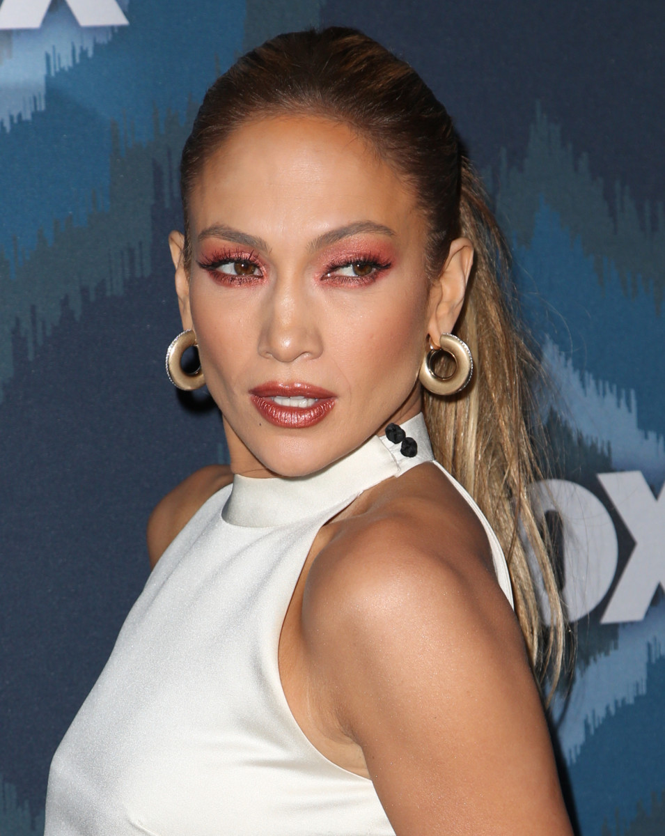 Jennifer Lopez, Fox All Star party, 2015
