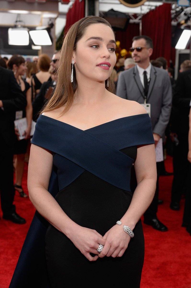Emilia Clarke, SAG Awards 2015