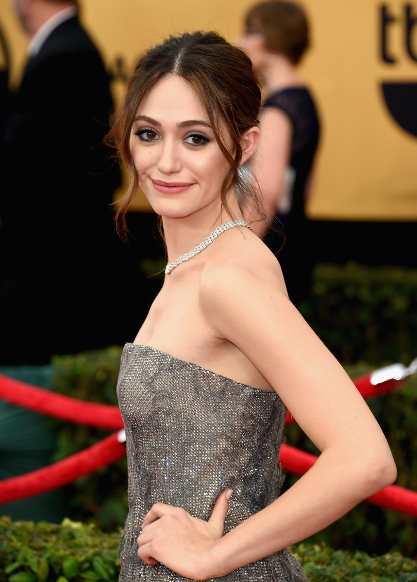 Emmy Rossum, SAG Awards 2015
