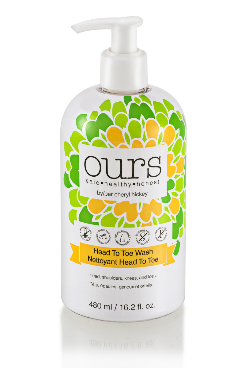 Ours by Cheryl Hickey Head to Toe Wash