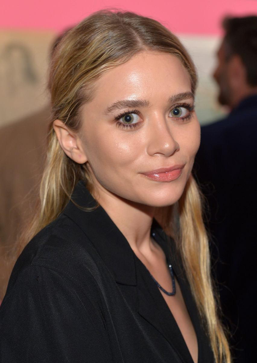 Ashley Olsen, Journey of a Dress exhibition opening, 2014