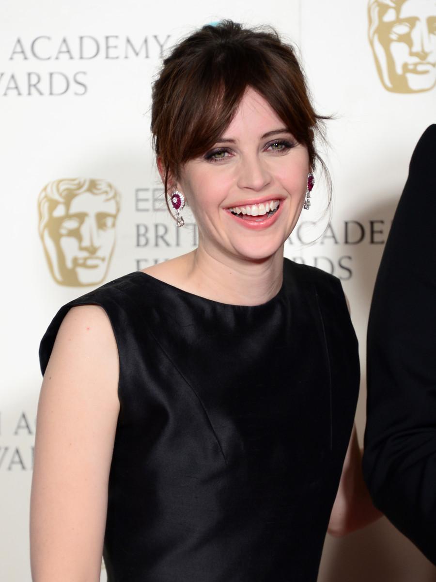 Felicity Jones, BAFTA Awards 2015