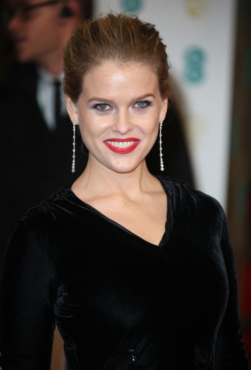 Alice Eve, BAFTA Awards 2015
