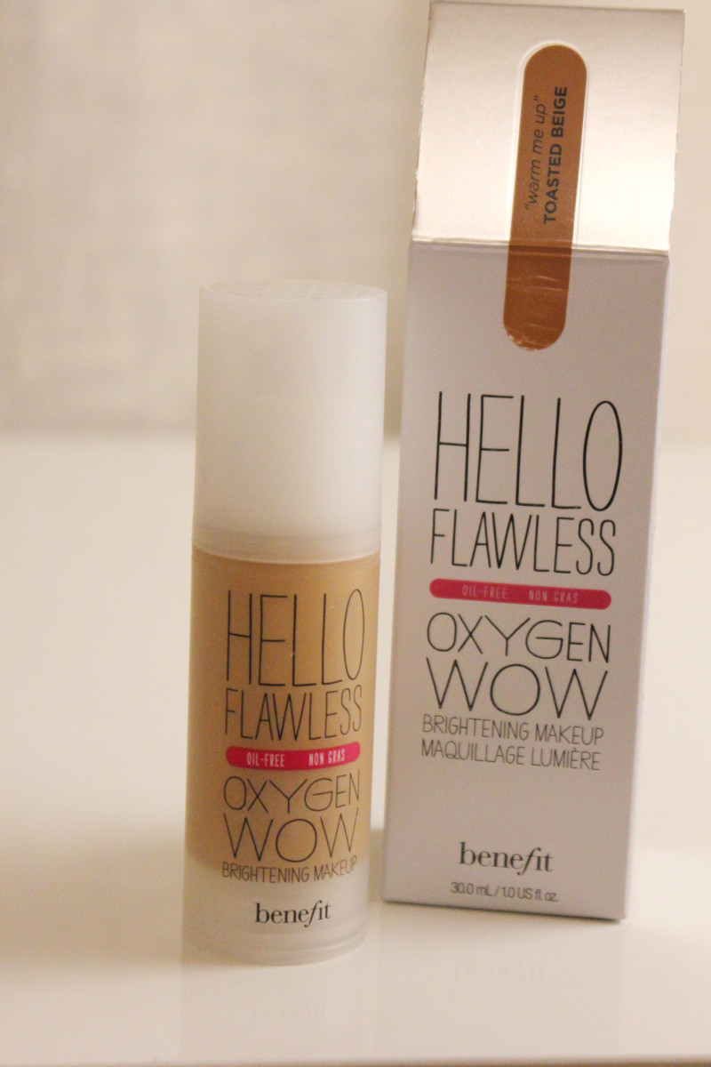 Benefit 'Hello Flawless!' Oxygen Wow Liquid Foundation