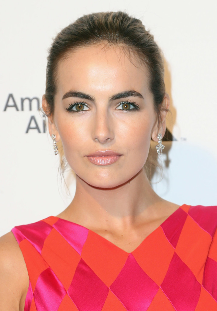 Camilla Belle, Elton John AIDS Foundation Academy Awards viewing party, 2015