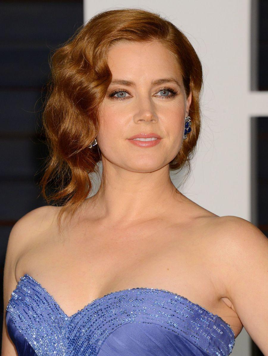 Amy Adams, Vanity Fair Oscar party, 2015
