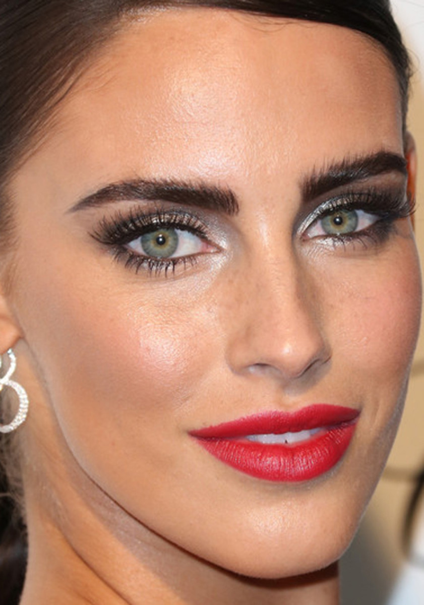 Jessica Lowndes, Elton John AIDS Foundation Academy Awards viewing party, 2015