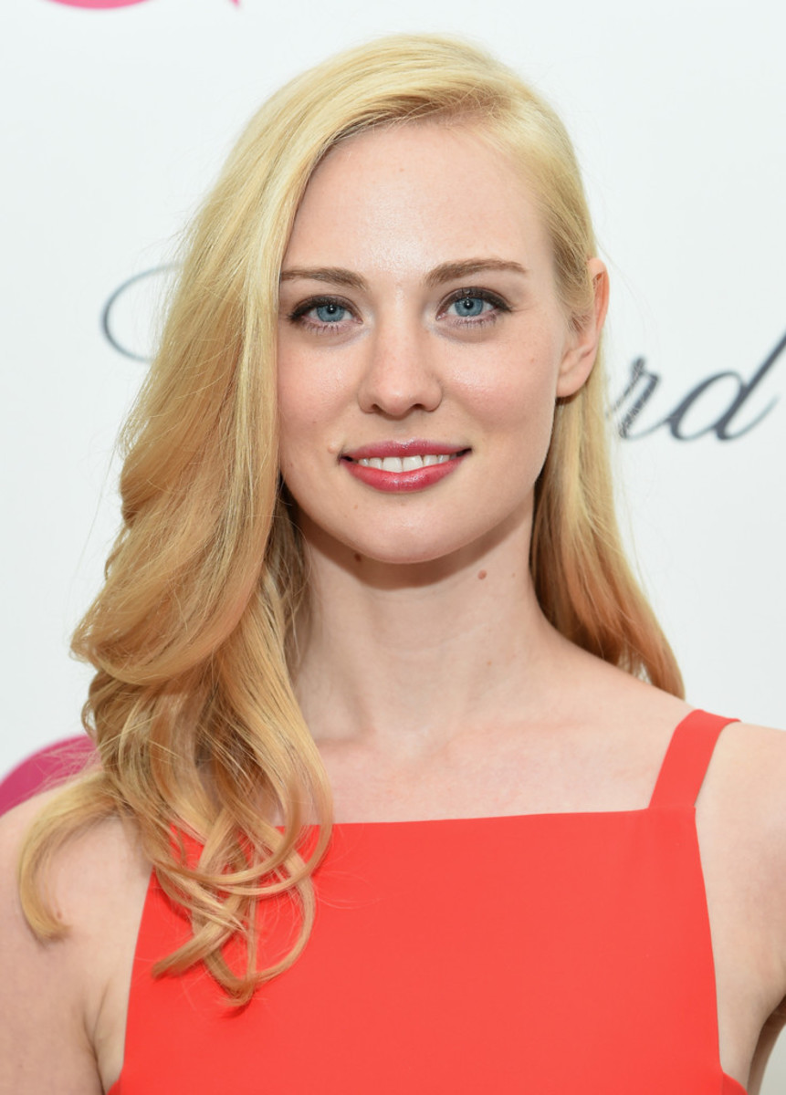 Deborah Ann Woll, Elton John AIDS Foundation Academy Awards viewing party, 2015