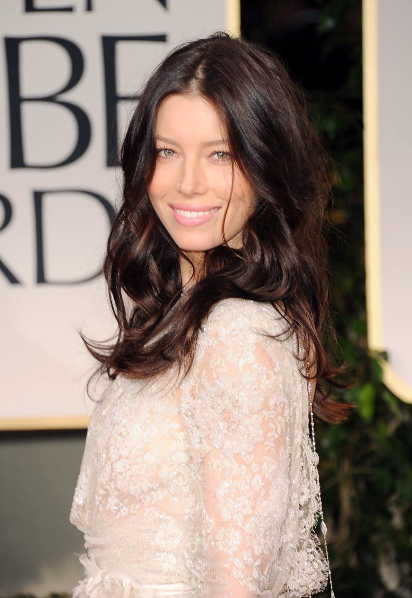 Jessica Biel, Golden Globe Awards 2012