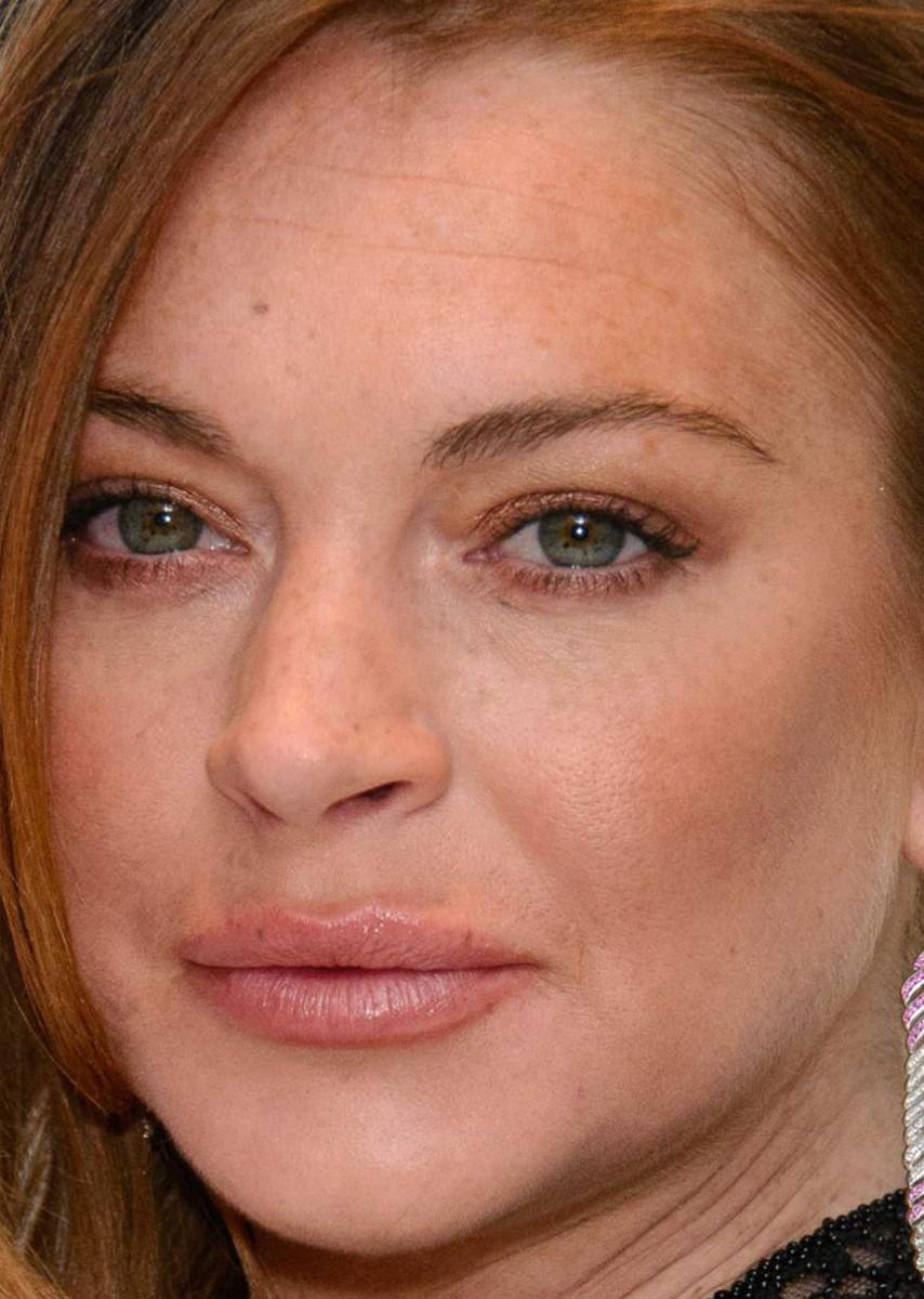 Lindsay Lohan, ELLE Style Awards 2015