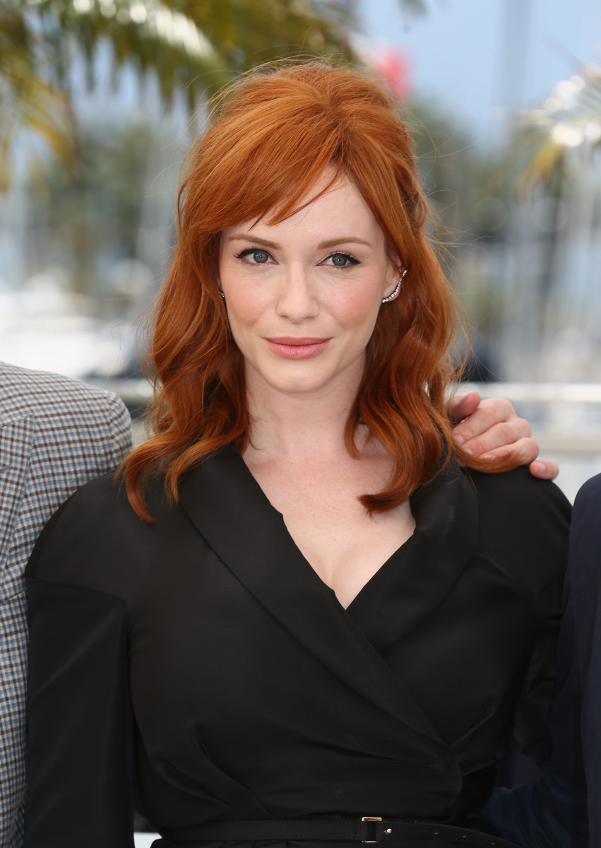 Christina Hendricks, Lost River photocall, Cannes 2014