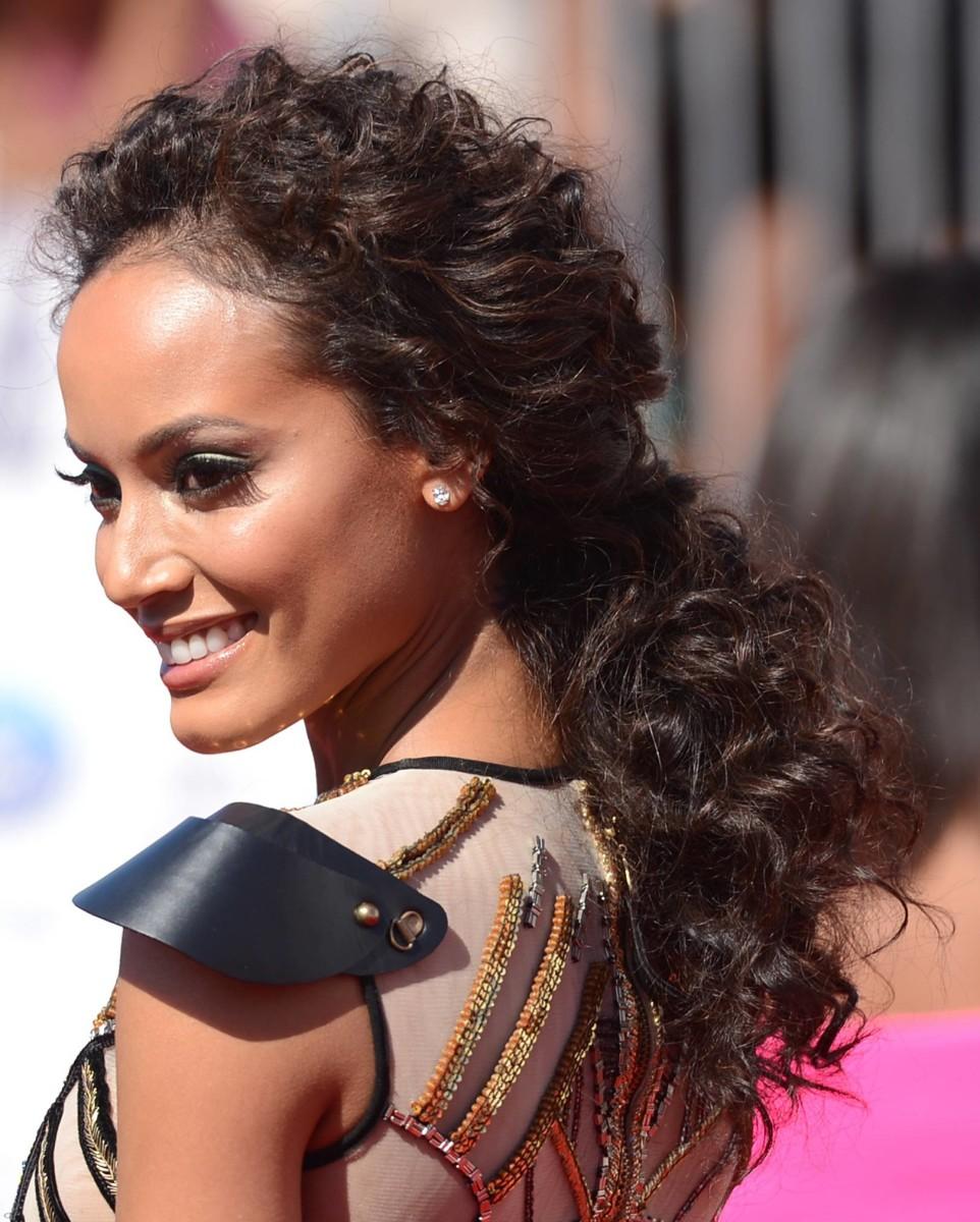 Selita Ebanks long curly hair