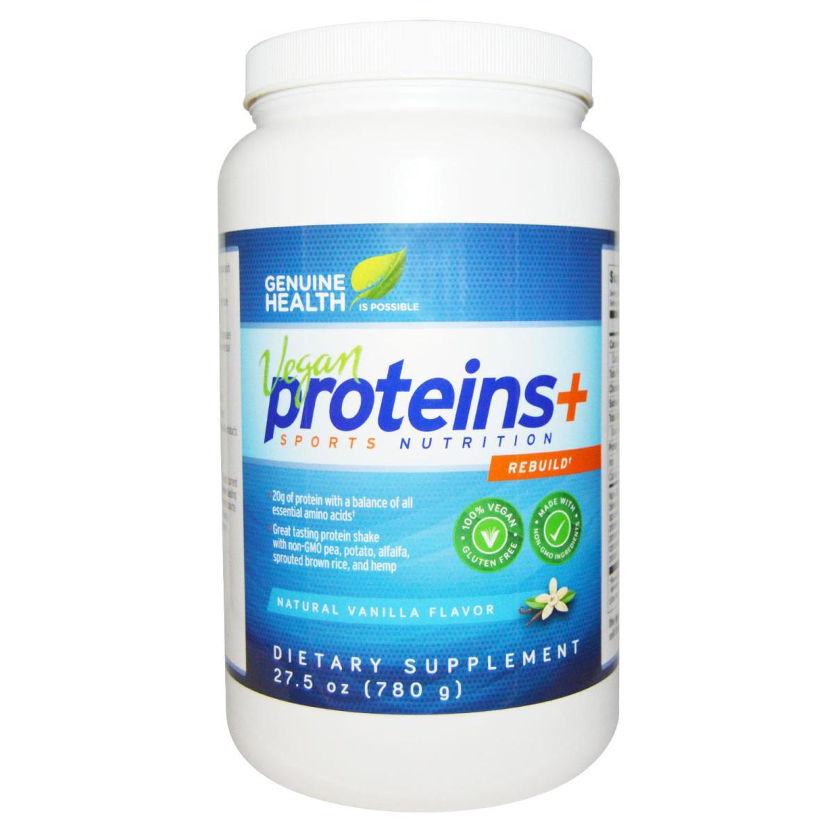 Genuine Health Vegan Proteins Plus