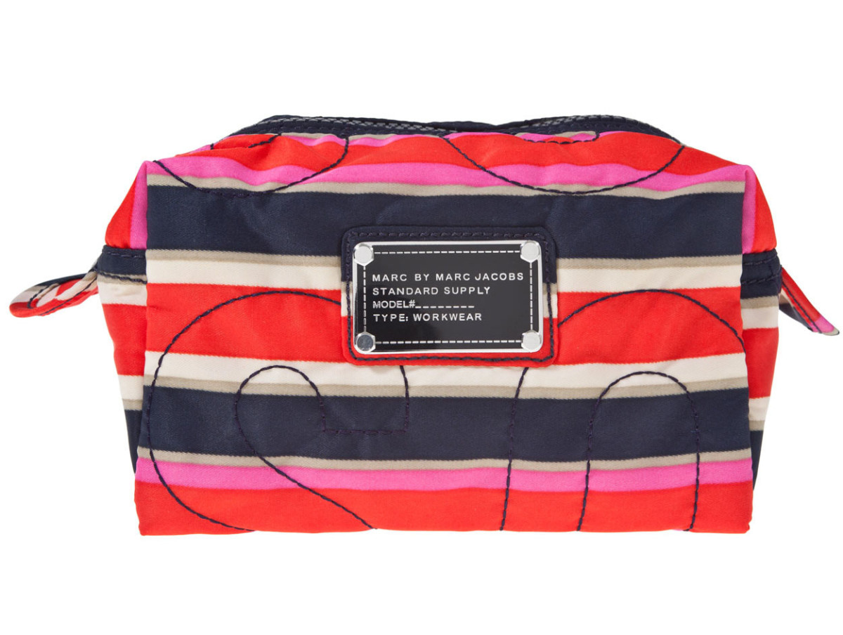 Marc by Marc Jacobs Striped Cosmetics Bag