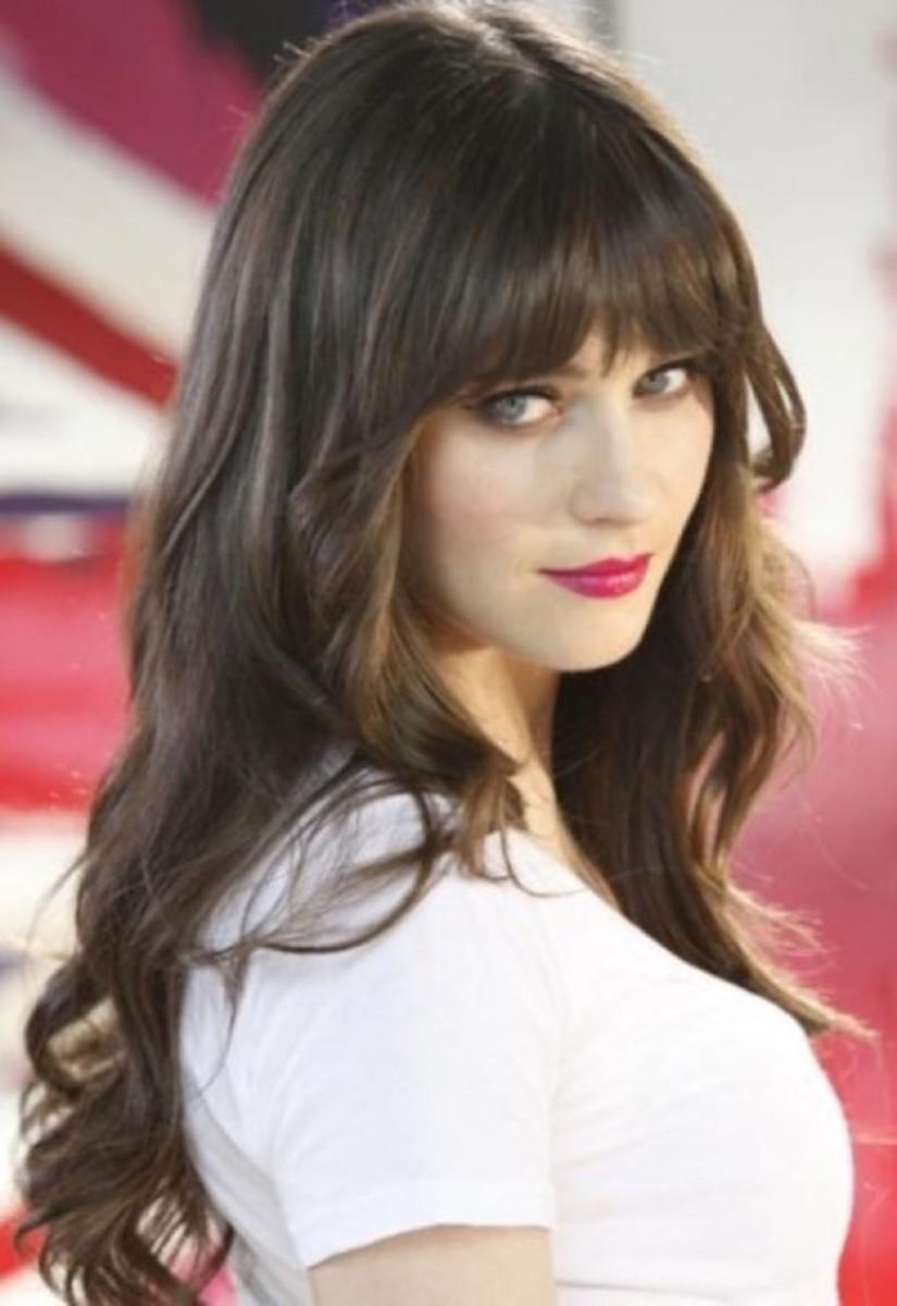 Zooey Deschanel, Rimmel lipstick ad