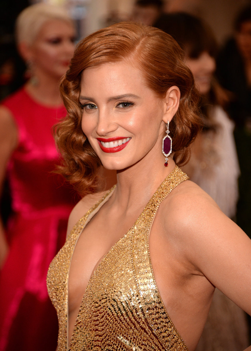 Jessica Chastain, Met Ball 2015