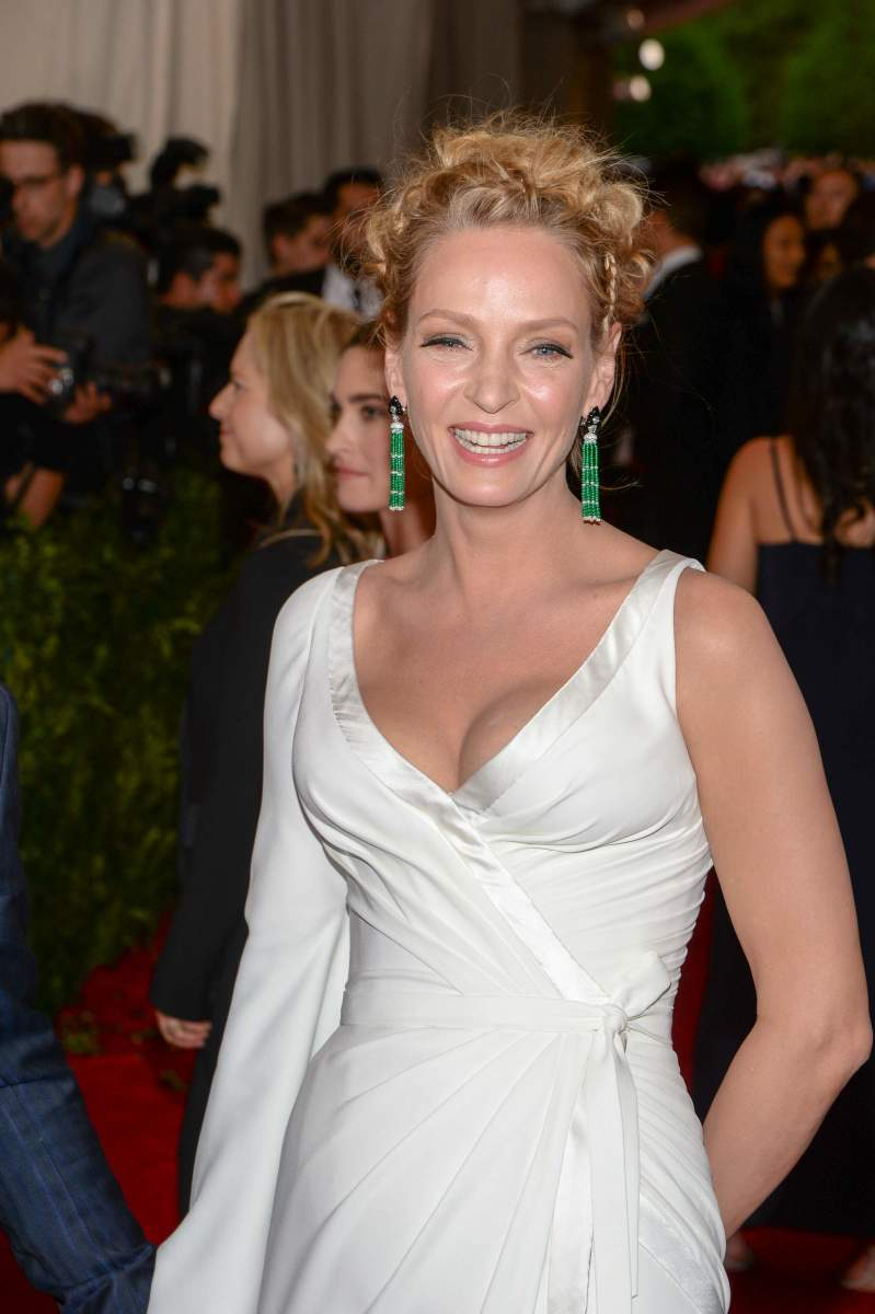 Uma Thurman, Met Ball 2015