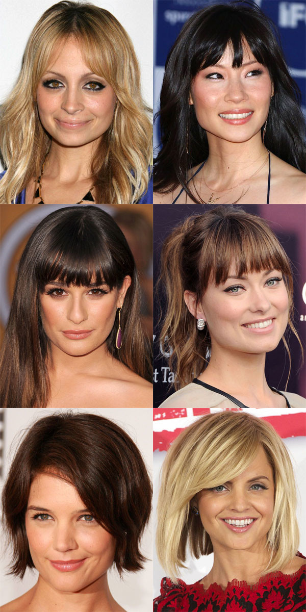Fabulous The Best And Worst Bangs For Square Face Shapes Beautyeditor Short Hairstyles Gunalazisus
