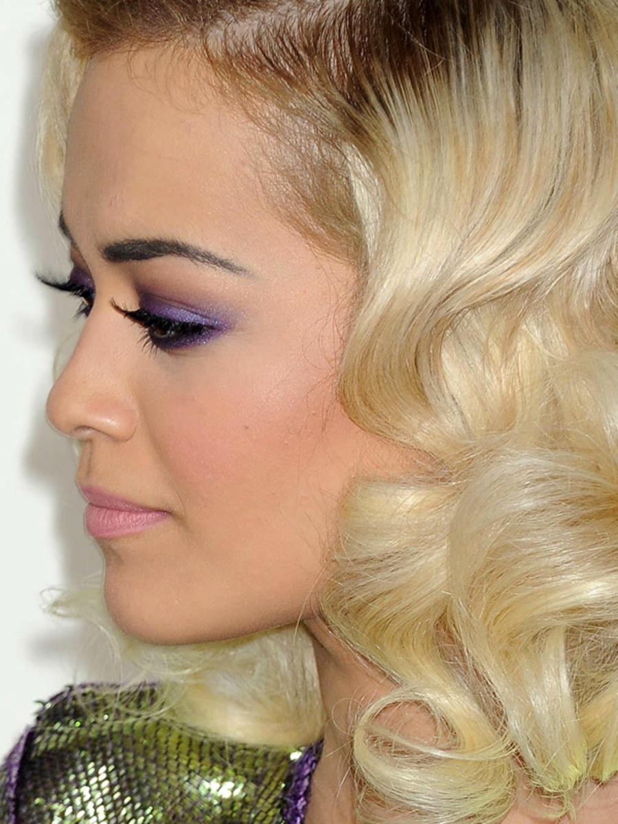 Rita Ora, Grammys 2014 makeup (3)