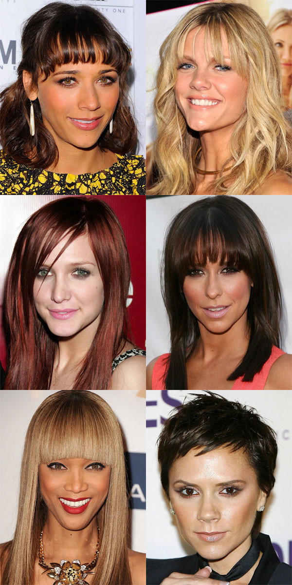Worst bangs for inverted triangle face
