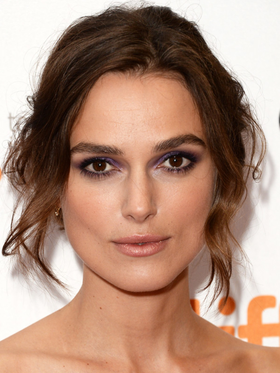 Keira Knightley makeup - Can a Song Save Your Life? premiere, September 2013
