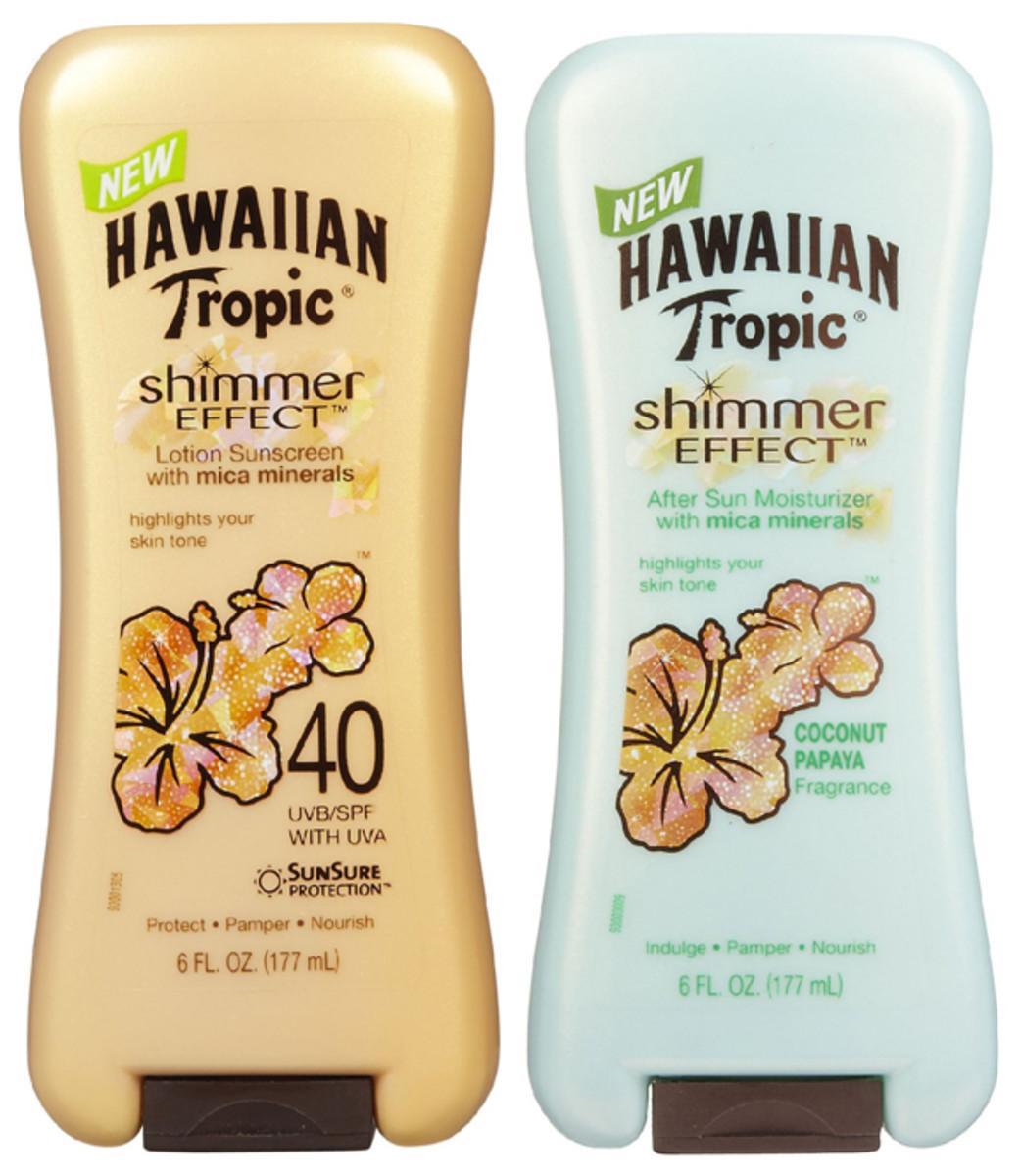 Hawaiian Tropic Shimmer Effect