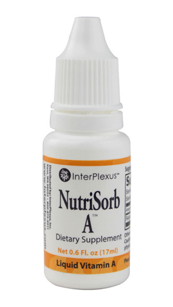 InterPlexus NutriSorb A Liquid Vitamin A