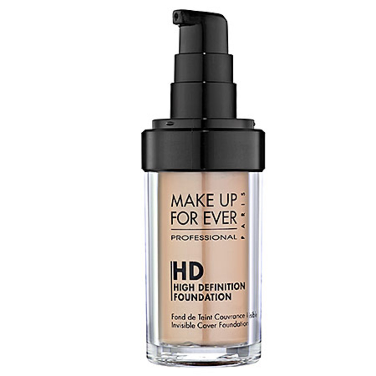 Make Up For Ever HD Invisible Cover Foundation in 125 Sand