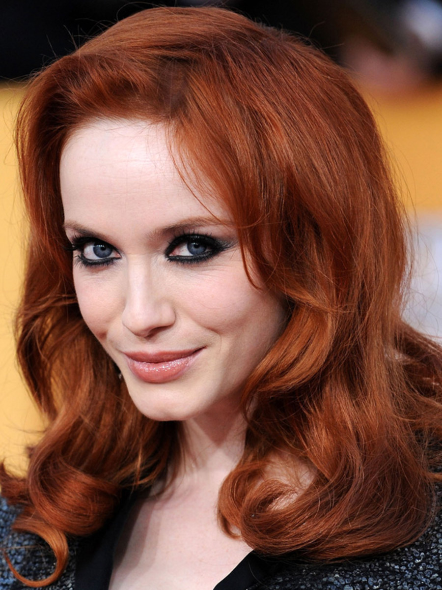 Christina Hendricks, SAG Awards, 2011