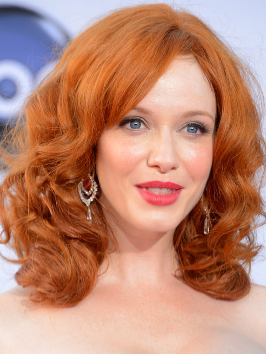 Christina Hendricks, Emmy Awards, 2012