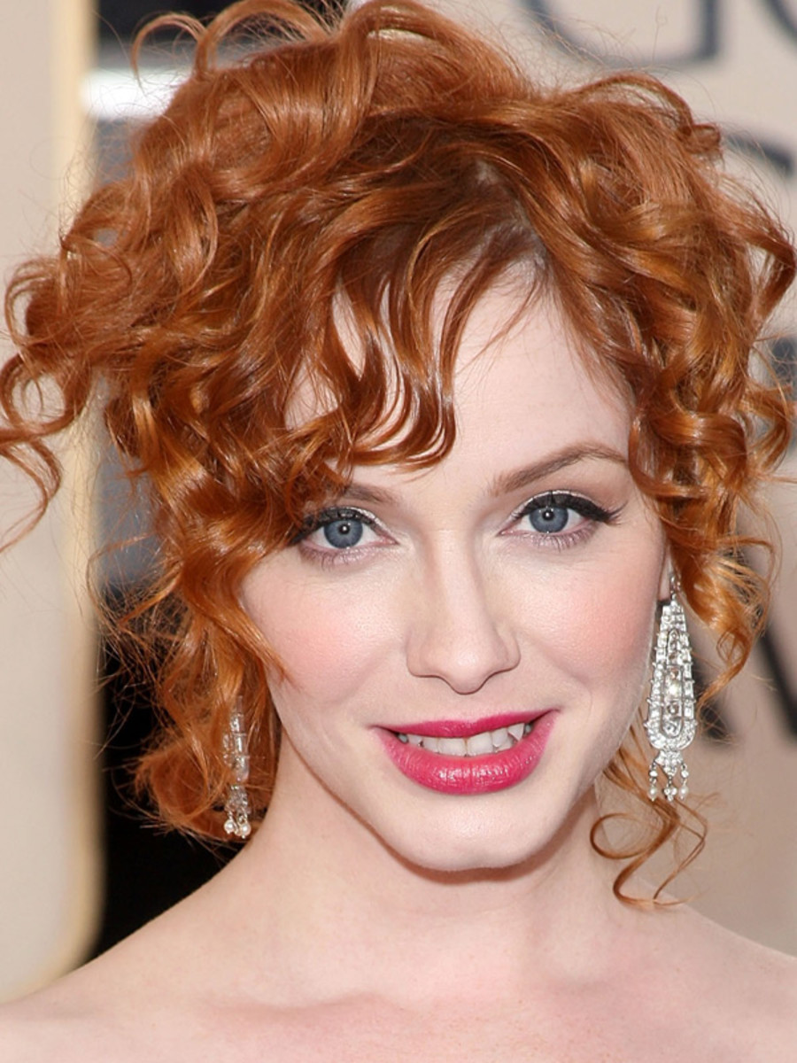 Christina Hendricks, Golden Globe Awards, 2009