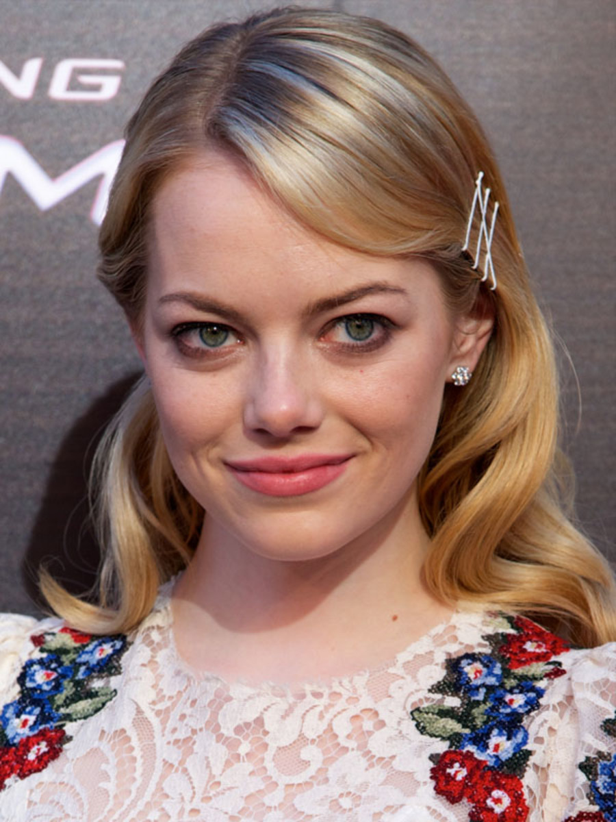 Emma Stone - The Amazing Spider-Man - Madrid premiere