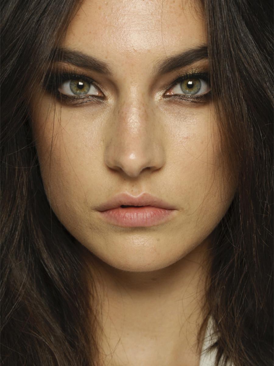 Versace - Spring 2013 makeup