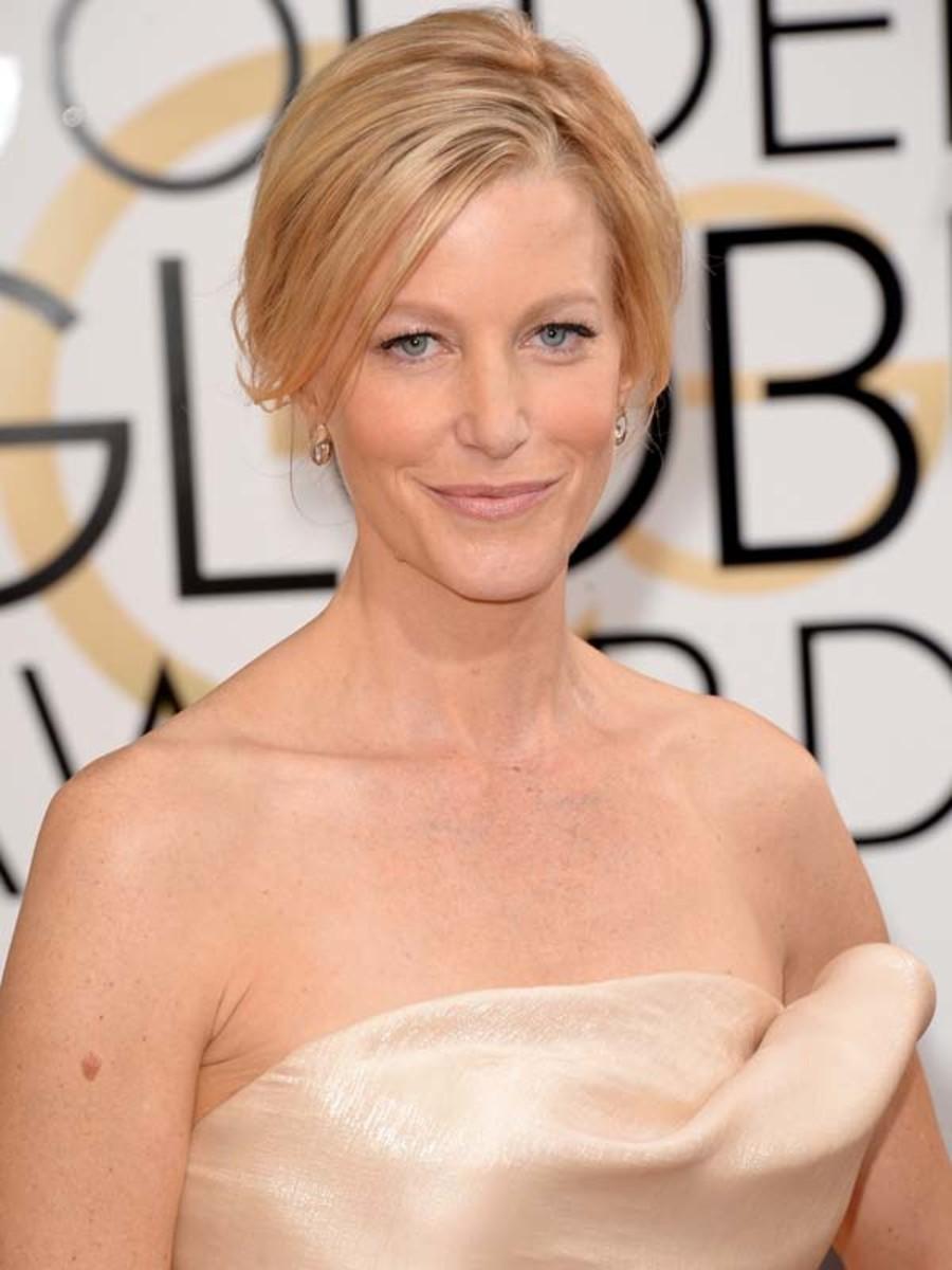Anna Gunn, Golden Globe Awards 2014, St. Tropez tan