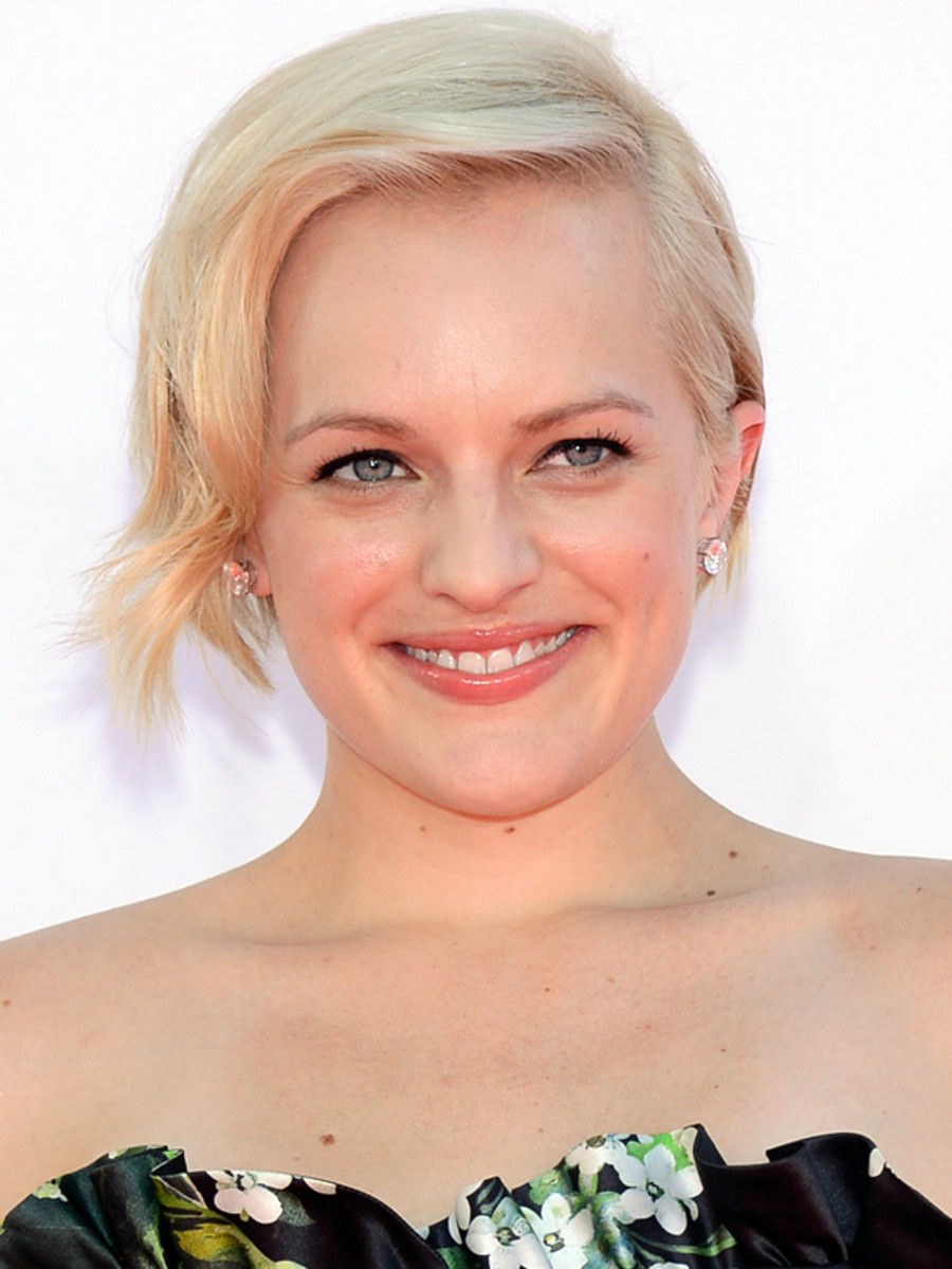 Elisabeth Moss - Emmy Awards 2012