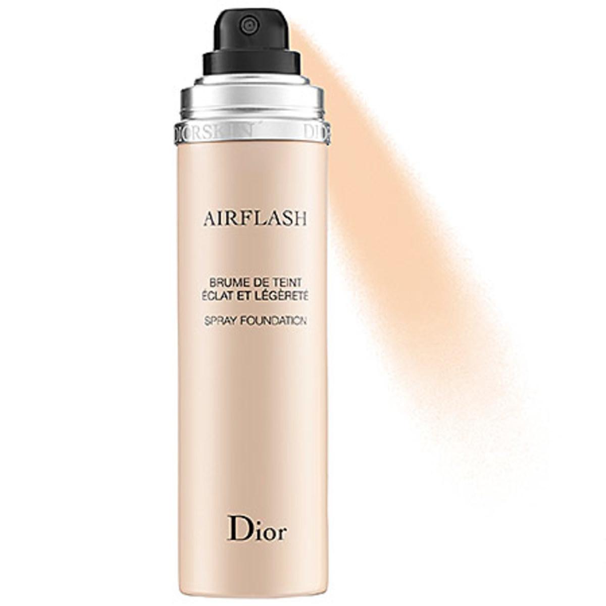 Dior Diorskin Airflash Spray Foundation in Ivory 100