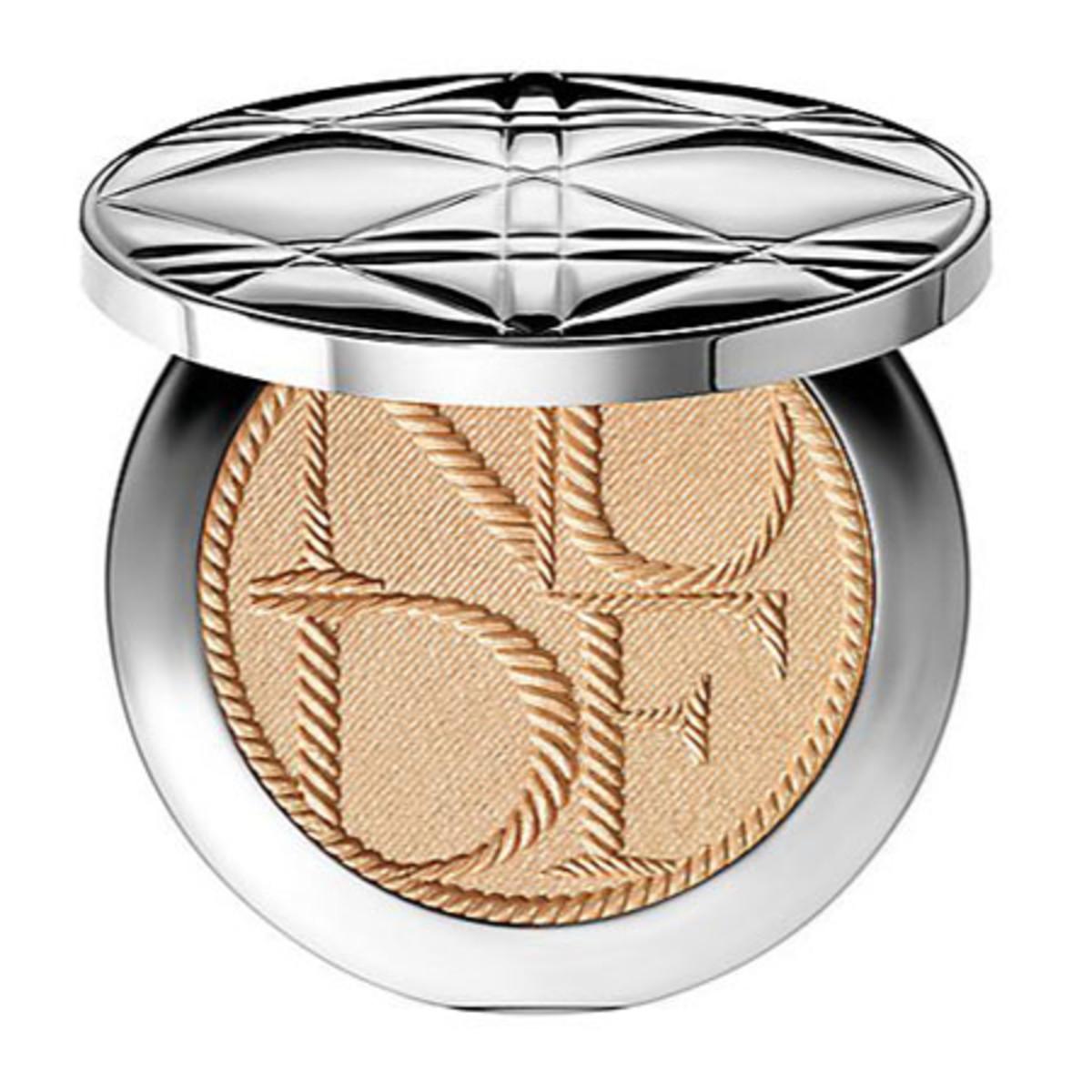 Dior Diorskin Voyage Nude Tan Golden Shimmer Powder Transit Edition