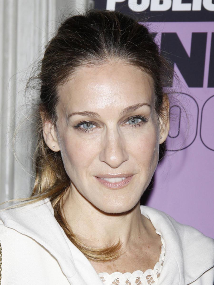 Sarah-Jessica-Parker-ponytail