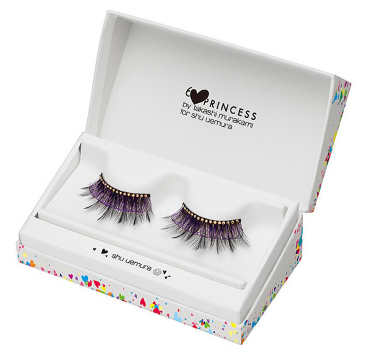 Shu Uemura 6Princess Takashi Murakami for Shu Uemura Black Jewel on Wing False Eyelash Premium Edition