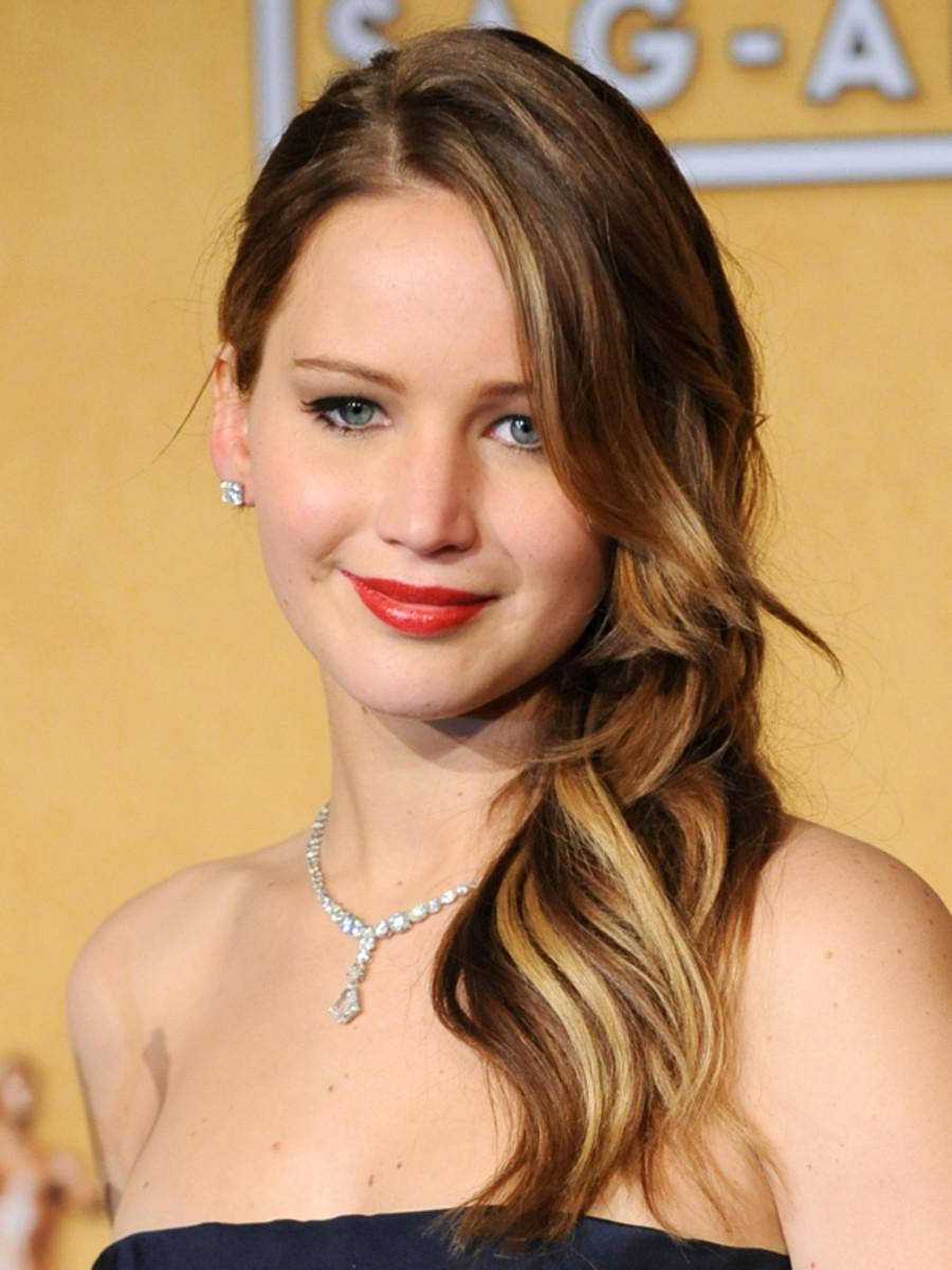 Jennifer Lawrence - SAG Awards 2013 hair